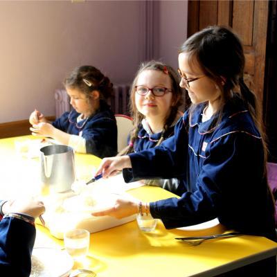 Ecole sainte marie de crepy en valois cantine bol de riz careme