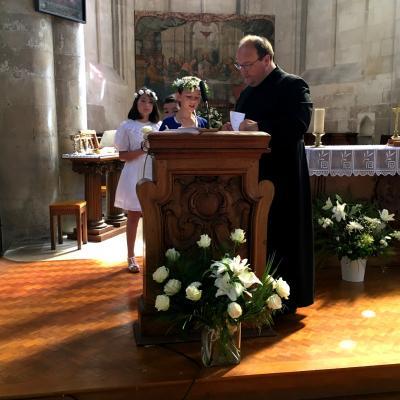 Ecole sainte marie de crepy en valois sacrement de la communion